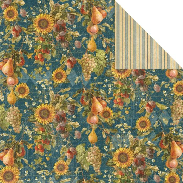 Двусторонняя бумага Abundance 30х30 см от Graphic 45