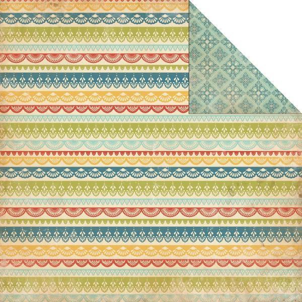 Двусторонняя бумага Italian Lace 30х30 см от Carta Bella