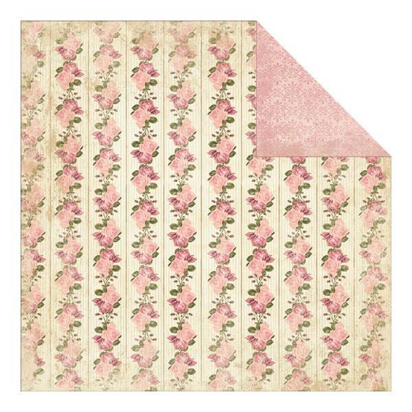 Двусторонняя бумага Wallpaper Stripe 30х30 см от Authentique Paper