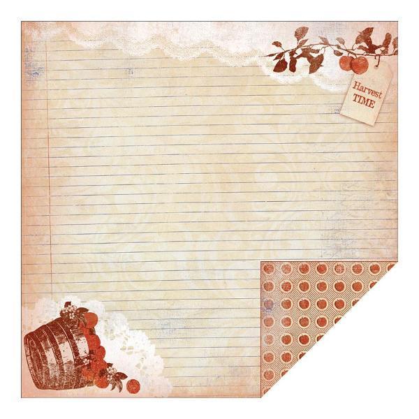 Двусторонняя бумага Autumn 1 30х30 см от Authentique Paper