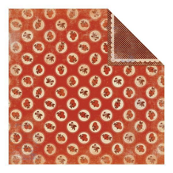 Двусторонняя бумага Autumn 2 30х30 см от Authentique Paper
