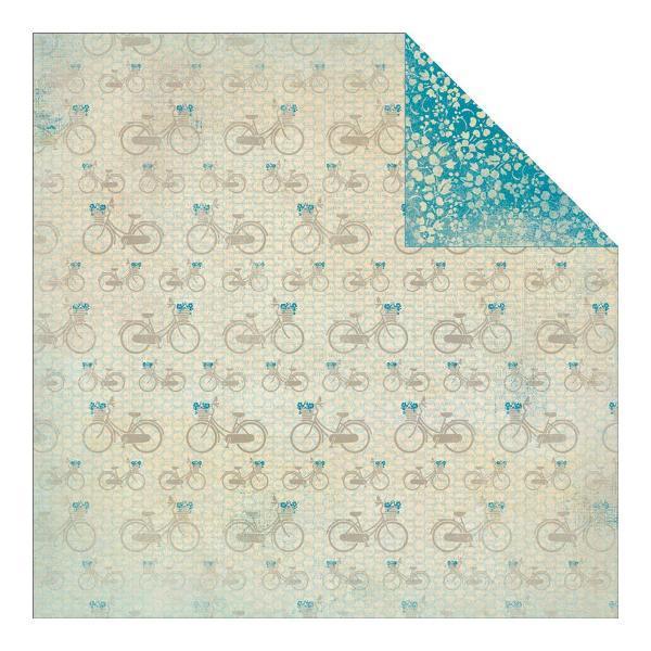 Двусторонняя бумага Summer 3 30х30 см от Authentique Paper