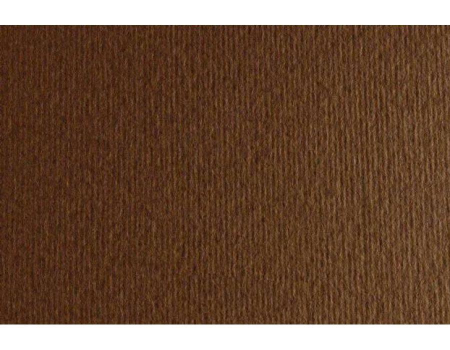 Бумага для дизайна Elle Erre А3 ,29,7х42см, №06 marrone, 220г/м2, коричневый, две текстуры, Fabriano