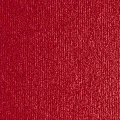Бумага для дизайна Elle Erre А3 ,29,7х42см, №09 rosso, 220г/м2, красный, две текстуры, Fabriano