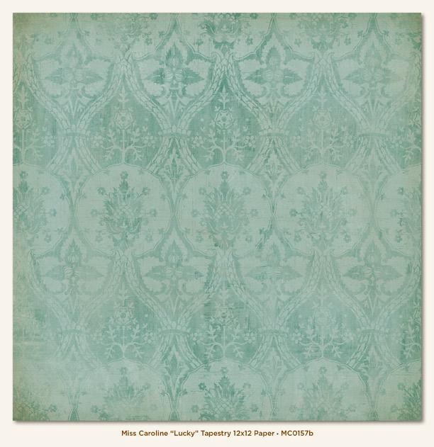 Двусторонняя бумага Lucky Tapestry 30х30 см от My Mind's Eye