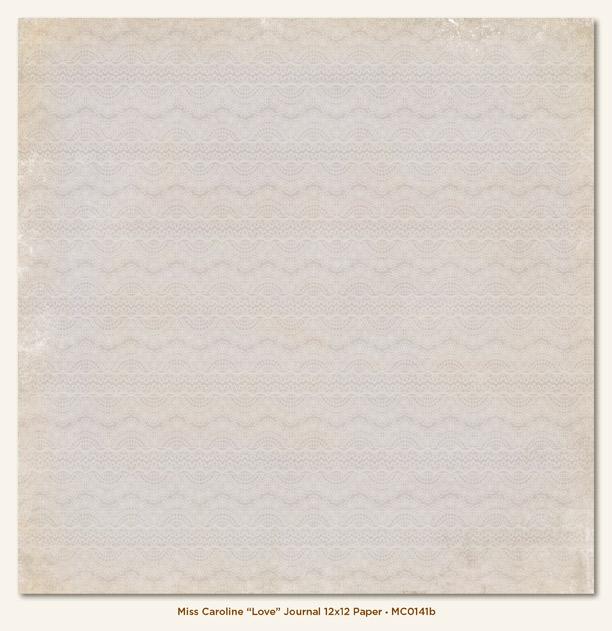Двусторонняя бумага Love Journal 30х30 см от My Mind's Eye