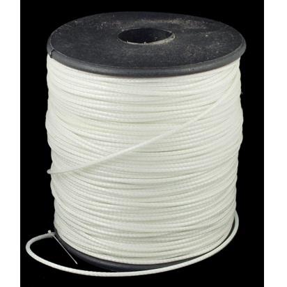 Вощеный шнур белого цвета , 90 см