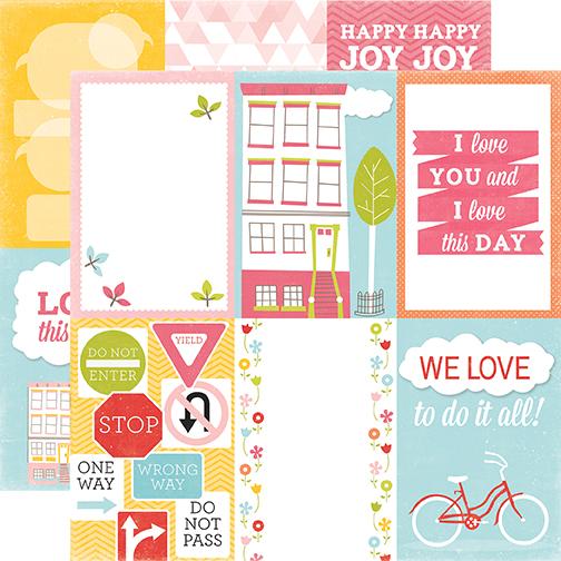 Двусторонняя бумага Love Today 30х30 см от Echo Park