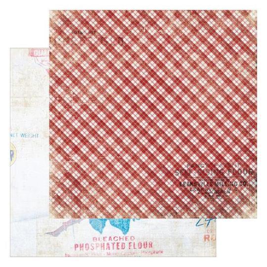 Двусторонняя бумага Rollin Pin 30х30 см от Farm House