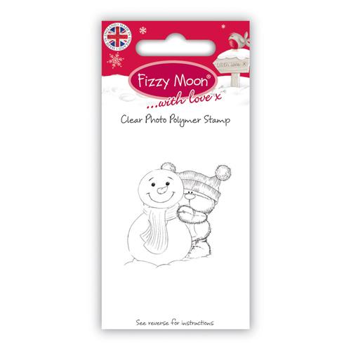 Акриловый штамп Snowman от компании Fizzy Moon