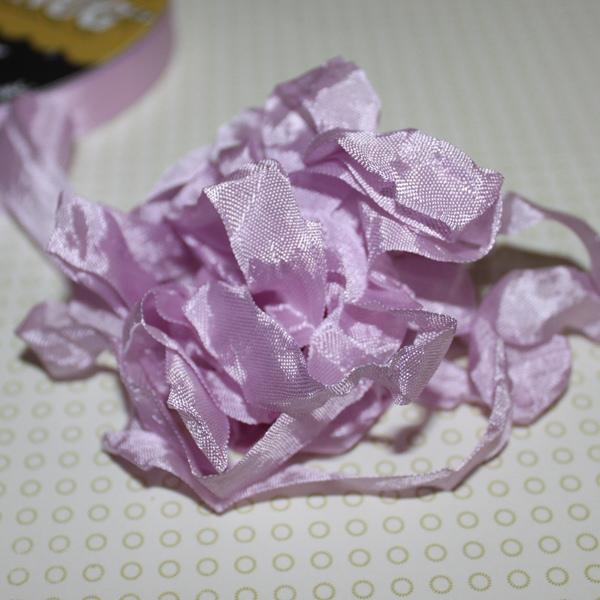 Шебби-лента Violet от компании Hug Snug, 14 мм, 90 см