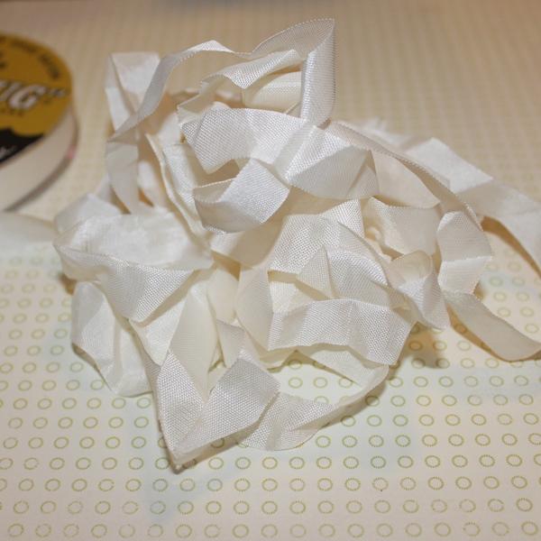 Шебби-лента Chalk White от компании Hug Snug, 14 мм, 90 см