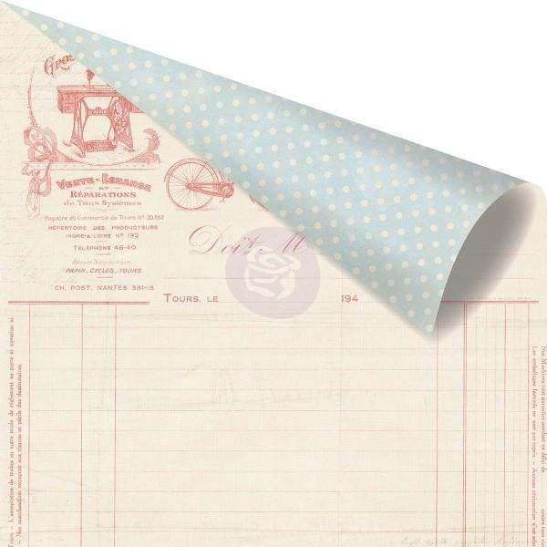 Двусторонняя бумага Discover 30х30 см от компании Prima