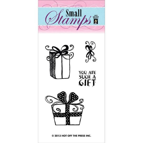 Акриловый штамп Gifts от Hot Off The Press