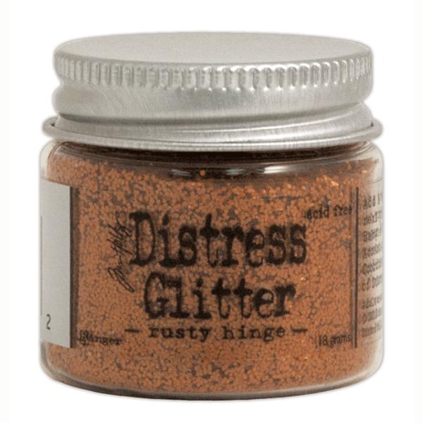 Глиттер Distress Glitter Rusty Hinge 18 г от компании Tim Holtz