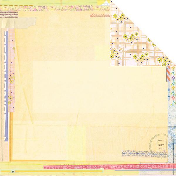 Двусторонняя бумага Citrus 30х30 см от компании Basic Grey