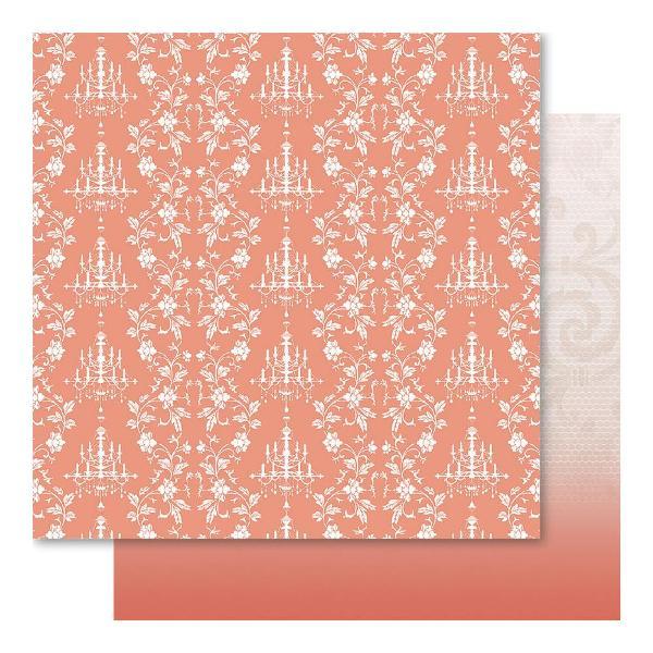 Двусторонняя перламутровая бумага Romance 30х30 см от Ruby Rock-It