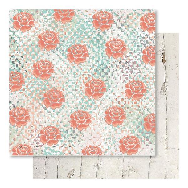Двусторонняя перламутровая бумага Rosie 30х30 см от Ruby Rock-It