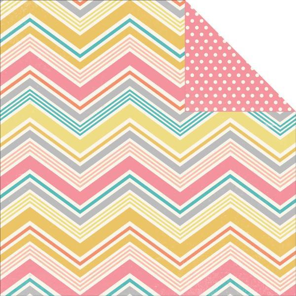 Двусторонняя бумага Vintage Bliss 30х30 см от компании Simple Stories