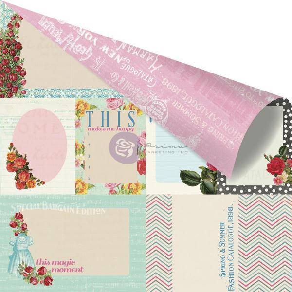Двусторонняя бумага Sewing Basket 30х30 см от Prima