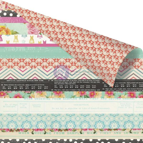 Двусторонняя бумага Jelly Roll 30х30 см от Prima