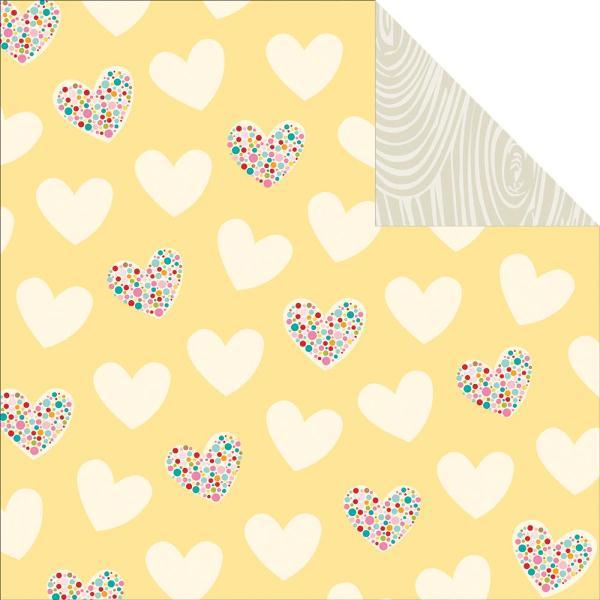 Двусторонняя бумага Smokeys In Love 30х30 см от Bella Blvd