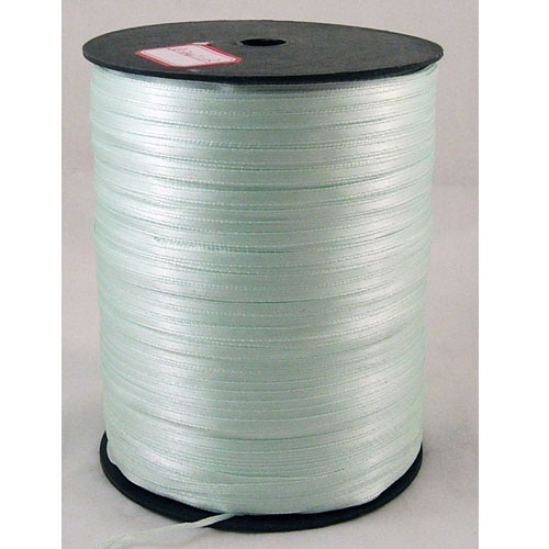 Атласная лента светлого ментолового цвета, ширина 3 мм, длина 5 м