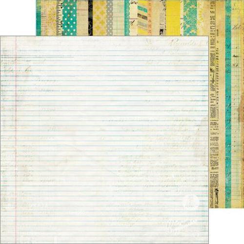 Двусторонняя бумага To Do List 30х30 см от Farm House