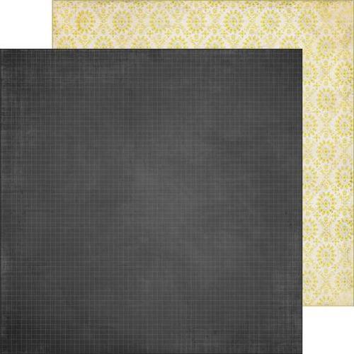 Двусторонняя бумага Bright Idea 30х30 см от Farm House