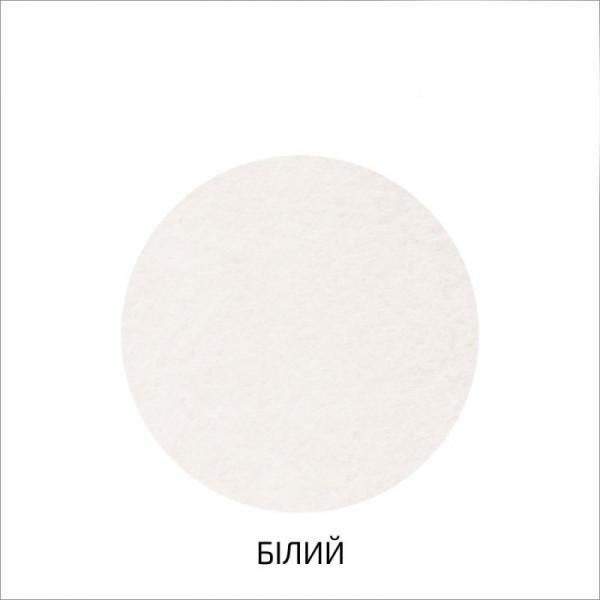 Фетр листовой (полиэстер), 29,7х42 см, Белый, 180г / м2, ROSA TALENT