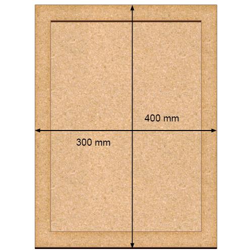 ART Board  артборд Прямоугольник 30х40 см, Фабрика Декора