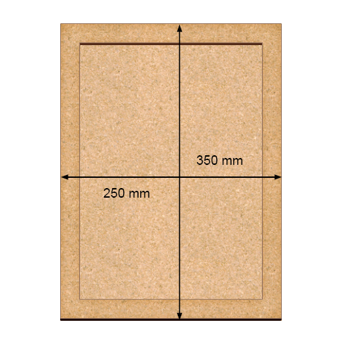 ART Board  артборд Прямоугольник 25х35 см, Фабрика Декора