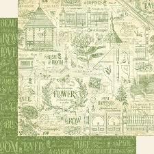 Двусторонняя бумага Plant Happiness- Bloom 30x30 см от Graphic 45