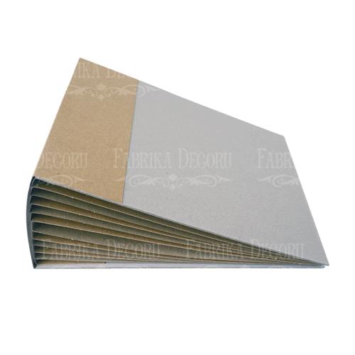 Заготовка для фотольбома из крафт-картона 15см x 20см 10 листов, Фабрика Декора