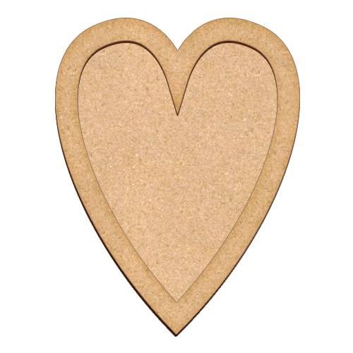 Артборд Сердце 23х30 см, Фабрика Декора