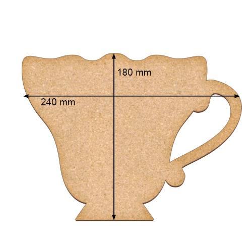 Артборд, Чашка, 24х18 см, 3 мм, Фабрика Декора