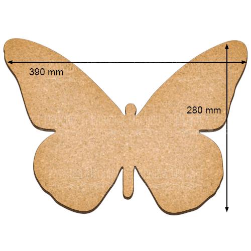 Артборд Бабочка XL, 21см x 30см, Фабрика Декора