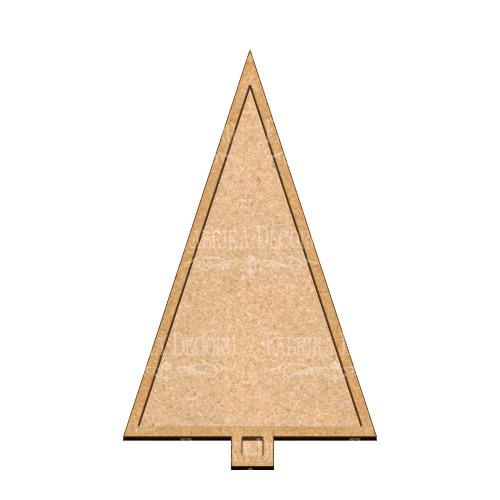Артборд  Елка 22,5х37 см, Фабрика Декора