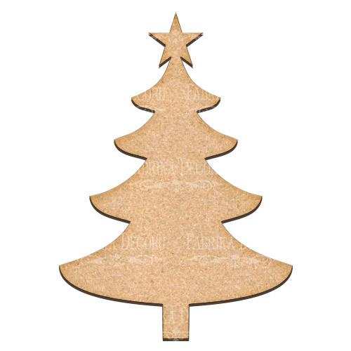 Артборд  Новогодняя елка 28,5х40 см, Фабрика Декора