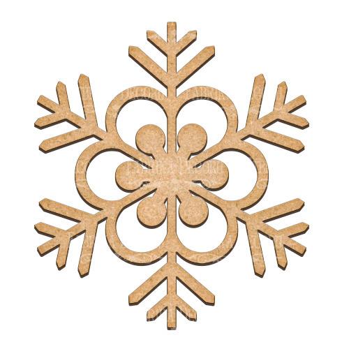 Артборд Снежинка 30х32,5 см, Фабрика Декора