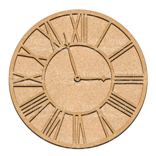 Артборд Часы 3 30х30 см, Фабрика Декора