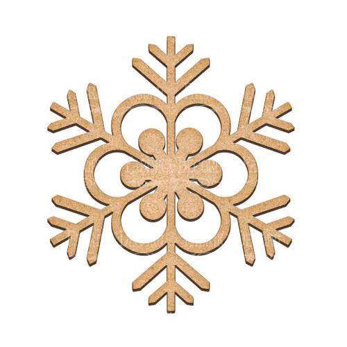 Артборд Снежинка 1 18х20 см, Фабрика Декора