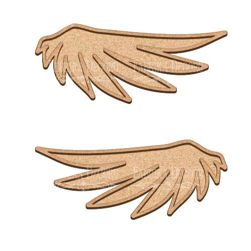 Артборд Крылья ангелочка 40х16,5 см, Фабрика Декора