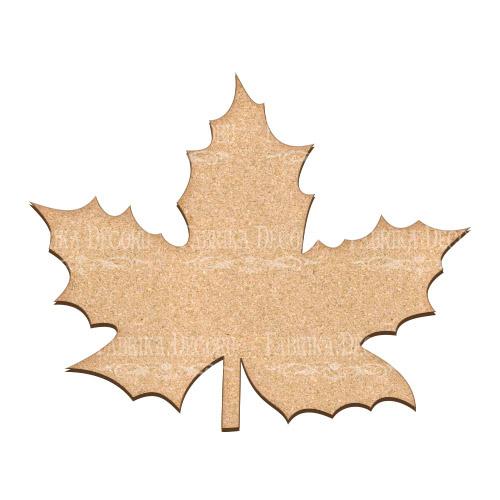 Артборд Кленовый лист 25х20 см, Фабрика Декора