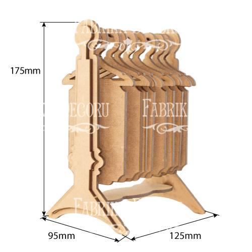 Альбом-гардероб для инстафото, Важные моменты, 95х125х175мм, Фабрика Декора