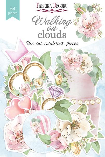 Набор высечек коллекция Walking on clouds 64 шт, Фабрика Декору