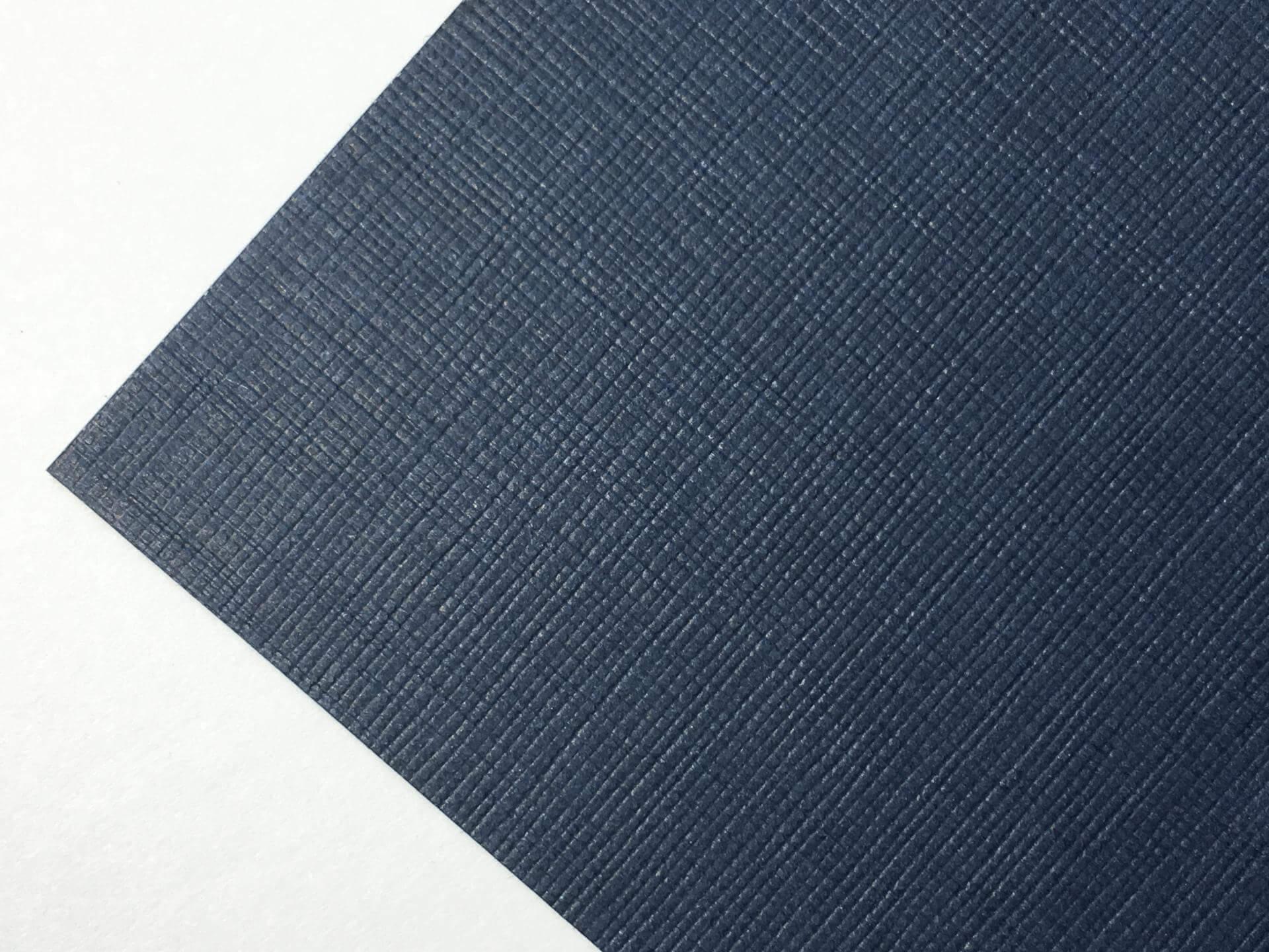 Бумага с текстурой льна Imitlin fiandra blu notte 30х30 см, плотность 125 г/м2