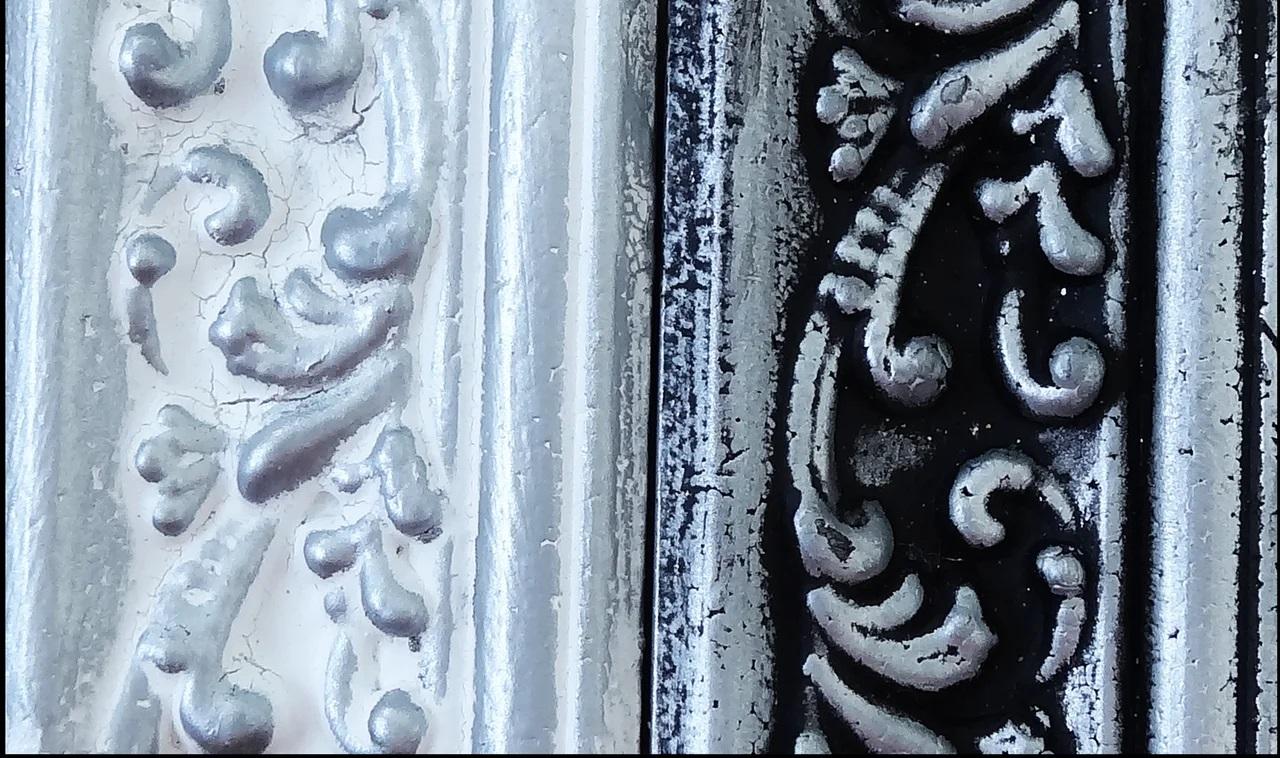 Восковая краска-паста Vintage Silver Metallic, 10 мл, ScrapEgo