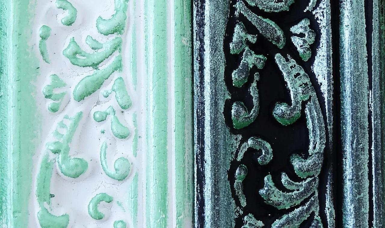 Восковая краска-паста Vintage Green pearl, 10 мл, ScrapEgo
