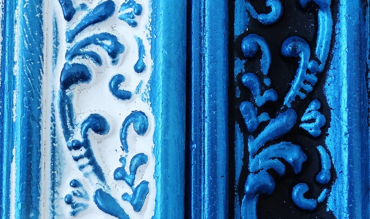 Восковая краска-паста Vintage Dark blue pearl, 10 мл, ScrapEgo